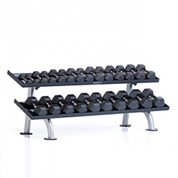 PPF-752T 2-Tier Tray Dumbbell Rack
